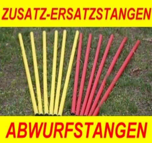ABWURFSTANGE EINZELN FÜR AGILITY-ÜBUNGS-HÜRDEN